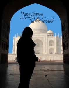 Berni at Taj Mahal Poster Image